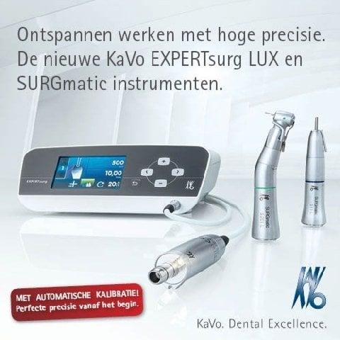 KaVo EXPERTsurg & SURGmatic: vertrouw op precisie en relax