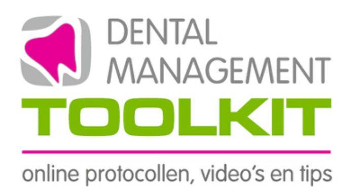 Dental Management Toolkit: Online protocollen, video's en tips
