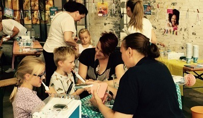 De kidsfabriek tandenpoets-workshop