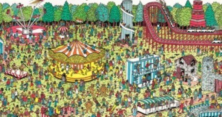 'Waar is Wally'