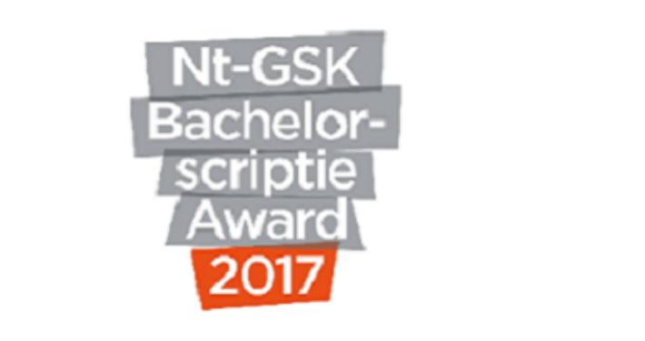 Nt-GSK Bachelorscriptie Award
