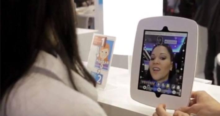 Passen van potentiële gebitten door middel van Augmented Reality