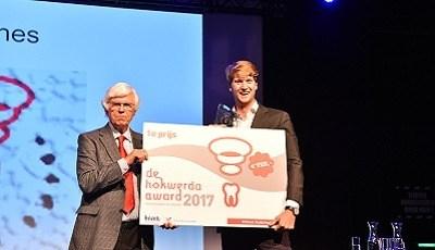 Winnaar Hokwerda Award 2017: Scanner voor medisch-tandheelkundige interactie
