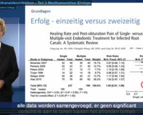 Desinfectie van het wortelkanaal – Kanaalmedicamenten (Nederlands ondertiteld)