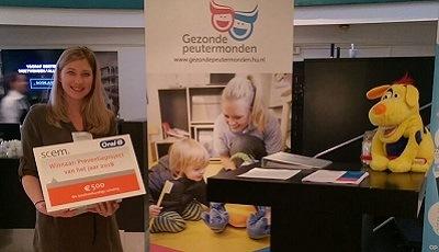 Project Gezonde Peutermonden wint 'Preventieproject van het Jaar 2018'