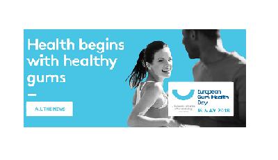 16 mei: European Gum Health Day