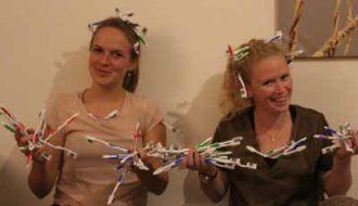 Wereldrecord neerzetten met oude tandenborstels