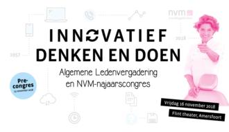 NVM-najaarscongres 2018: 'Innovatief denken en doen'