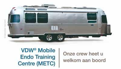 VDW toert door Nederland met een Mobiel Endo Trainingscenter (METC)