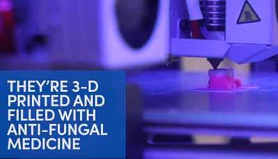 3D-geprinte prothese met medicijnen kan mogelijk infectie bestrijden