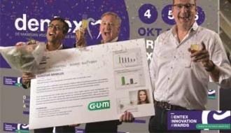 GUMActiVitalSonic Tandenborstel wint Dentex Innovation Award