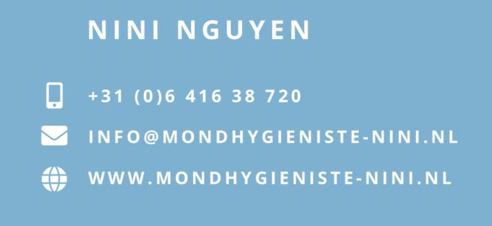 Ni Nguyen Gevraagd: overname tandartspraktijk, Almere/Lelystad