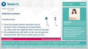 Tandarts Ivoren Kruis Esther Jansen