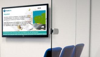 Wachtkamerschermen® biedt wachtkamer TV voor mondzorg branche