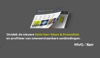 KaVo Kerr promoties januari – april 2019