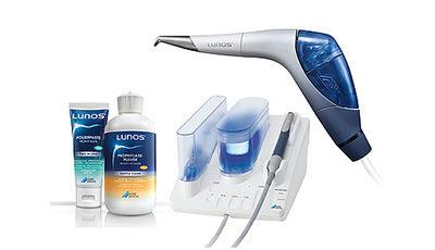 Lunos® overtuigt als een premium profylaxesysteem met vele unieke productvoordelen