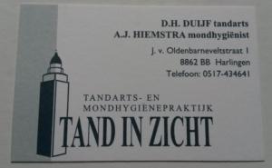 Vacature: Gezocht: Parttime tandartsassistent(e) voor 2 dagen in de week in Harlingen