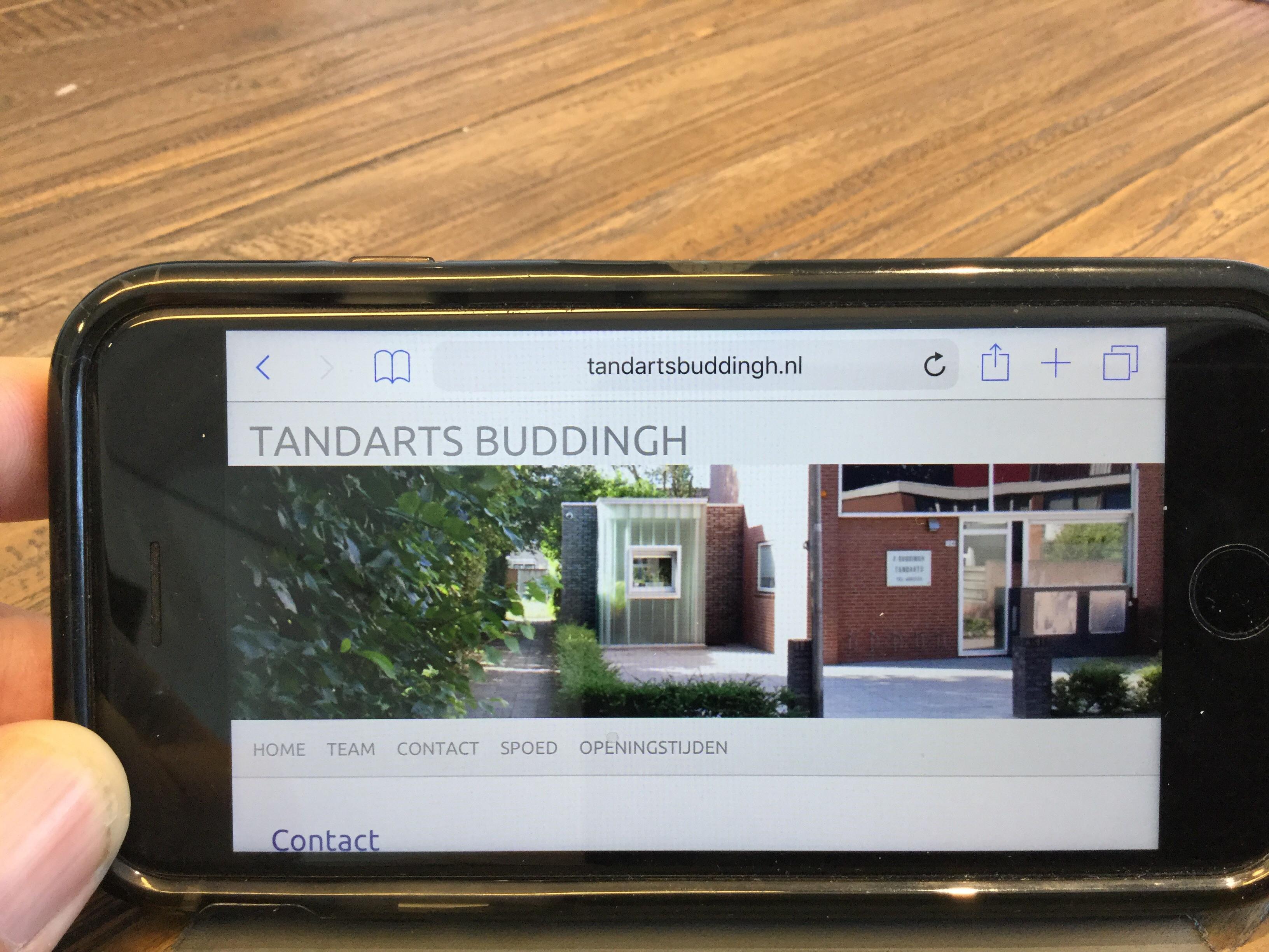Tandartspraktijk Buddingh Vacature: Tijdelijke waarneming zieke tandarts