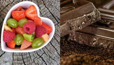 Waarom antioxidanten in chocola en fruit goed voor je mondgezondheid zijn