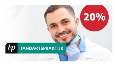 Profiteer van 20% korting op TandartsPraktijk, hét vakblad voor tandartsen
