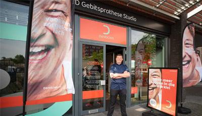 Nieuw franchiseconcept De Denticien: naar de winkel voor een kunstgebit