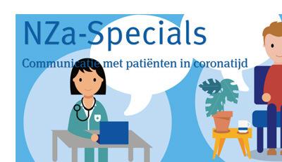 Communicatie met patiënten in coronatijd - NZa-special