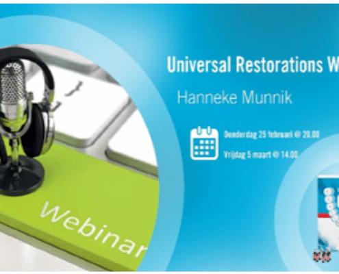 Webinar: Universal Restoration Solutions