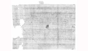 De brief van Jacques Sennacques uit 1697.
