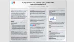 Poster: De implementatie van EBP in het tandheelkundig werkveld