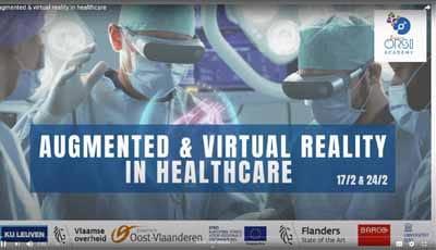 Webinar terugkijken: Augmented en Virtual reality: wat is het en wat kan je ermee in de tandheelkunde?