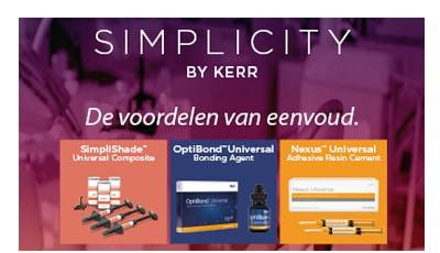Houd het simpel met de universele restauratieve producten van Kerr